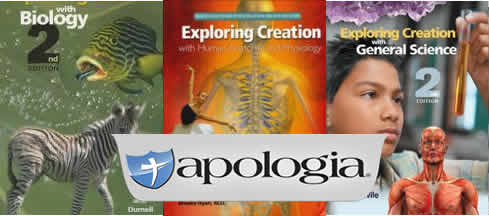 Apologia Science Text books