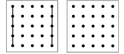 Dot Pattern Method for helping children who reverse their letters when reading