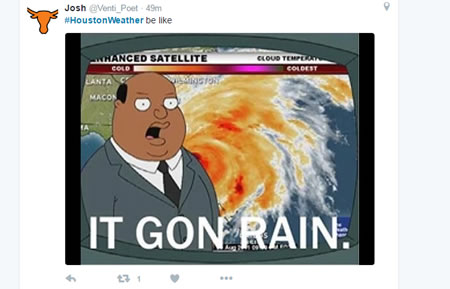 Houston Weather Tweets