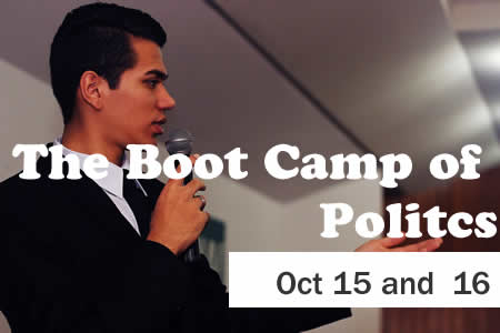 The Boot Camp of Politics - October 2016 Sugar Land Tx